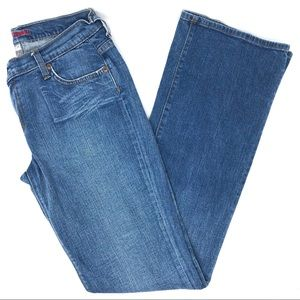Express Medium Wash Boot Cut Jeans